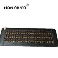 HANRIVER New product! korea heating jade matjademattress tourmaline mat Tourmaline jade massager Thermal Jade Mattress 50*150CM