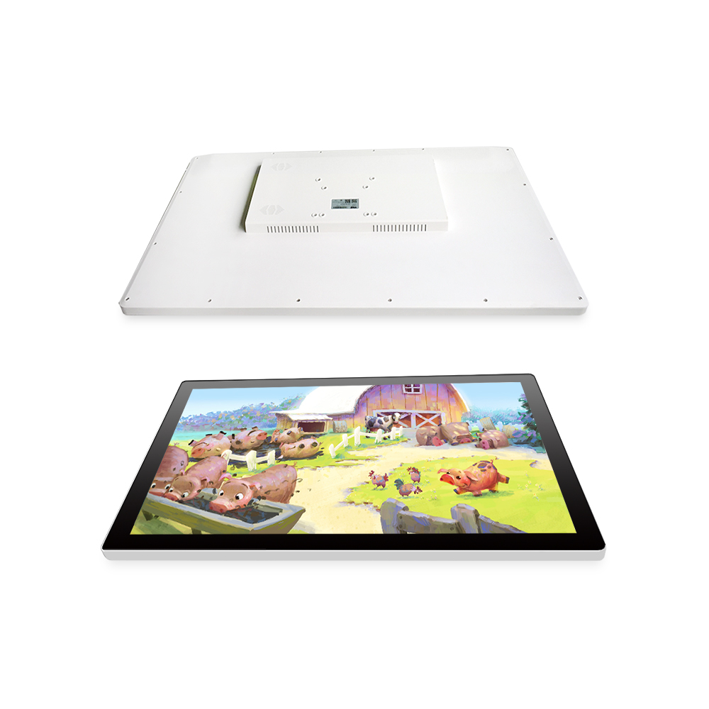 OEM Industrial Panel Pc 21.5 Inch Fanless Resistive Touch Screen Tablet Pc J1900 All In One Computer With Dual Lan