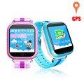 Gps smart watch q100 com 1.5 polegada tela sensível ao toque de chamada sos localização dispositivo Rastreador inteligente relógio para o Miúdo do bebê Seguro PK Q60 Q80 Q90