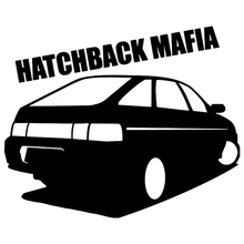 CS-186#16*20cm hatchback mafia 2112 funny car sticker and decal silver/black vinyl auto stickers