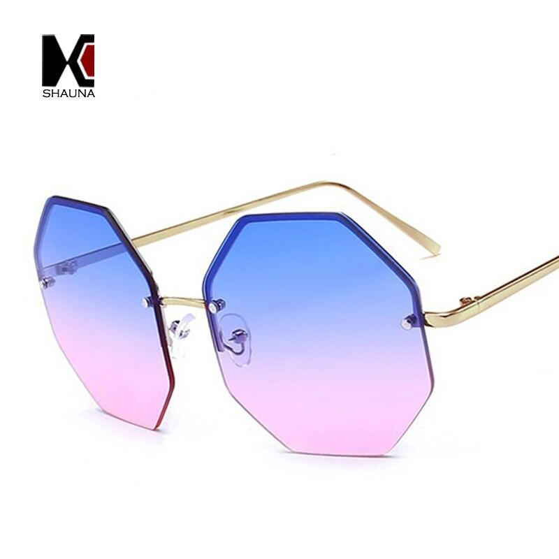 panther sonnenbrille mode transparente ozean Objektiv goldrahmen ...