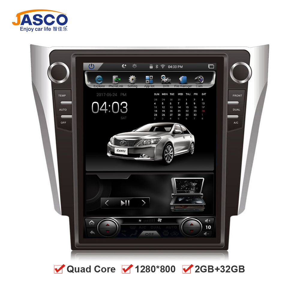 android 6 0 car dvd stereo gps headunit for toyota camry. Black Bedroom Furniture Sets. Home Design Ideas