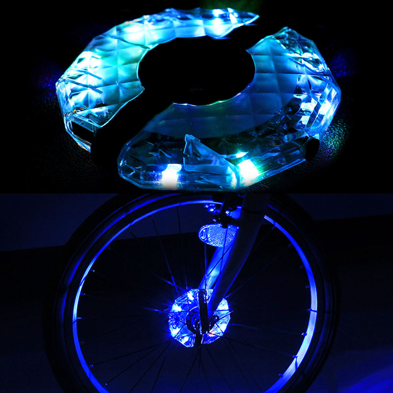 12pcs rechargeable led rgb colorful led light strip waterproof 12pcs rechargeable led rgb colorful led light strip waterproof bicycle spoke lights for safety warning clh8 in led strips from lights lighting on aloadofball Image collections