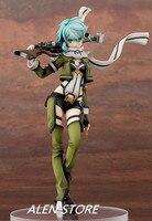 Hot anime Sword Art Online (SAO) Sinon action figure Gun Gale Online (GGO) characters Shino Asada toys