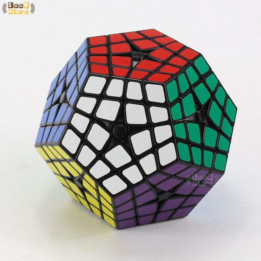 Shengshou Cube 4x4x4 Magique Cube Shengshou Maître Kilominx 4x4 Professionnel Dodécaèdre Cube Twist Puzzle jouets éducatifs