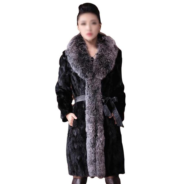 4c2ee20062 Women Faux Fur Robe Sexy Slim Coat For Lady Rabbit Fur Overcoat Women Faux  Mink Fur Sleepwear Women Top Quality Fox Fur Parka