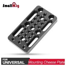 SmallRig DSLR монтажа сыр пластины камера стабилизатор с 3/8 1/4 нитки для DIY варианты 1598