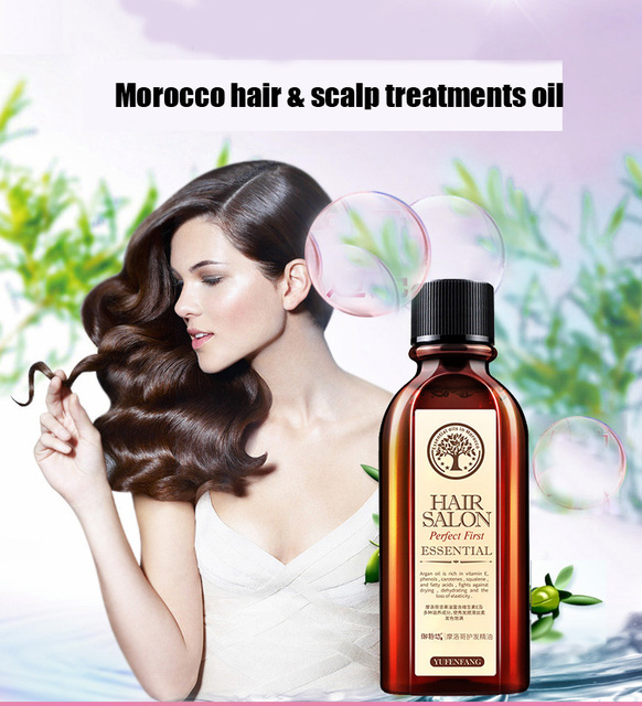 60ml Morocco Argan Oil Haircare Essential Oil Nourish Scalp Repair Dry Damage Hair Treatment Glycerol Nut Oil Hairdressing 1