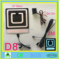 Uber el flashing car sticker glow car sticker on can window with DC12V inverter free shipping new uber new lyft