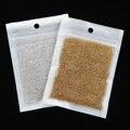 50 g/pacote Ouro Prata Metal 3d Caviar Beads Nail Art Pérola Strass Decorações DIY Acessórios Do Prego Ferramentas Manicure