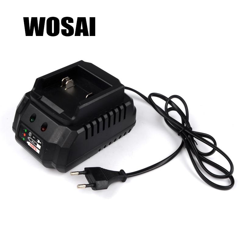 WOSAI 20 v Utensili elettrici Batteria Al Litio Adattatore del Caricatore Applicabile Modello di Macchina WS-B6 WS-L6 WS-H3 WS-H5 WS-J3 WS-F6