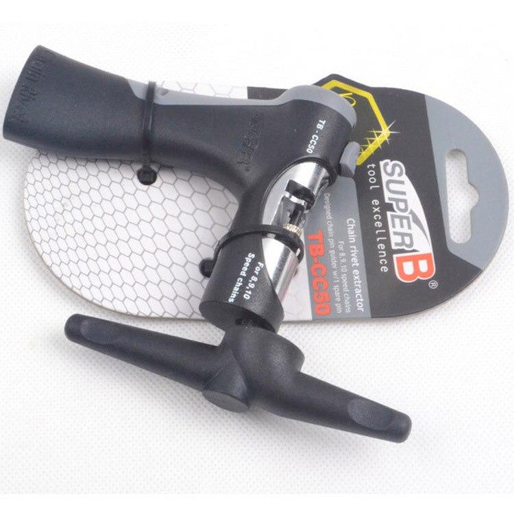 ФОТО BicycleTool Taiwan SUPER B Bao Zhong Cutting Chain TB-CC50 for 8 9 10 Speed Cut Chain Device Bike Repair Tools
