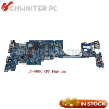 NOKOTION PC MAIN BOARD For HP EliteBook X360 1030 G2 Motherboard i7-7600U CPU 16GB RAM OLDMAN-6050A2848001-MB-A01 920054-601