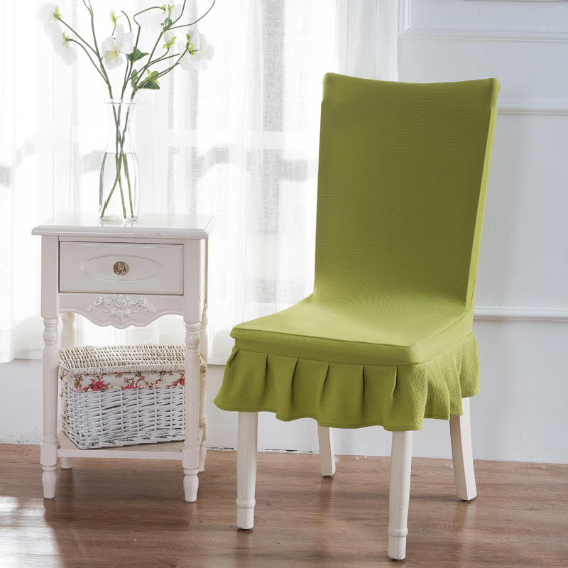 Fashion One Piece Stretch Table Chair Cover Skirt Chair
