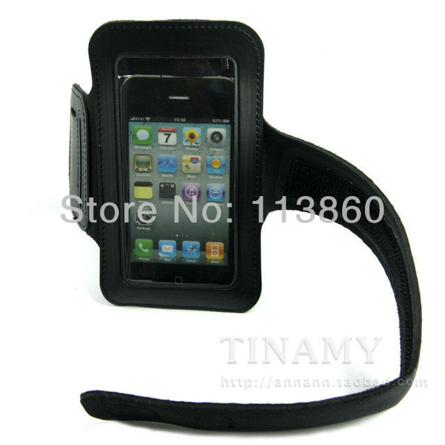 For Samsung Galaxy SII S2 i9100 Soft Arm Belt Holder Armband Jogging Running Cell Phone Carrying Case Bag Pouch Free Shipping