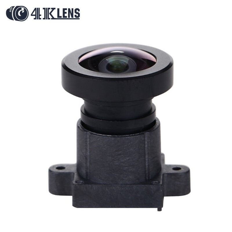 4K LENS 2.7MM Lens HFOV 92D IR 1/2.3 Inch 16MP M12*P0.5 Flat Gopro Lens Wide Angle for Sports Camera and FPV Drone 2017 Newly