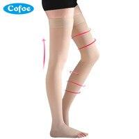 A Pair Medical Varicose Veins Socks 23 32mmHg Pressure Level 2 Mid Calf Length Socks Varicose
