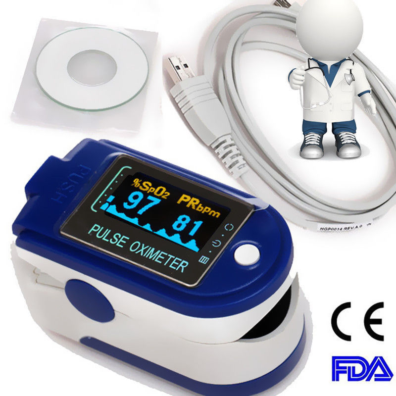 USB Software Finger Pulse Oximeter,Blood Oxygen Monitor,SPO2,PR CMS50D+,CE&FDA abpm50 ce fda approved 24 hours patient monitor ambulatory automatic blood pressure nibp holter with usb cable