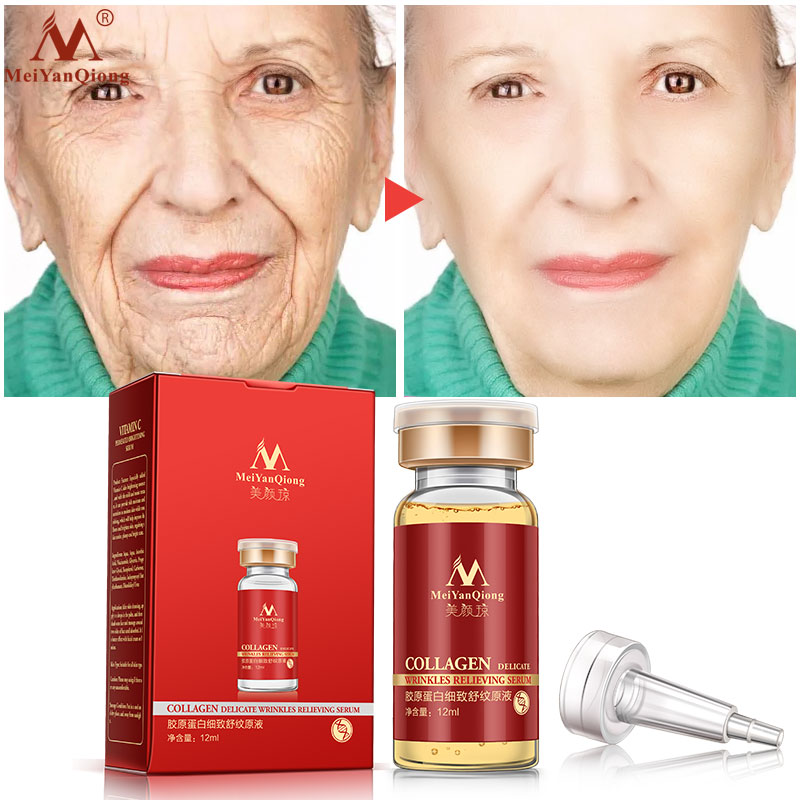Argireline+collagen Peptides Anti Wrinkle Serum 100%pure Collagen Liquid Anti-wrinkle Moisturizing Lifting Firming Face Cream