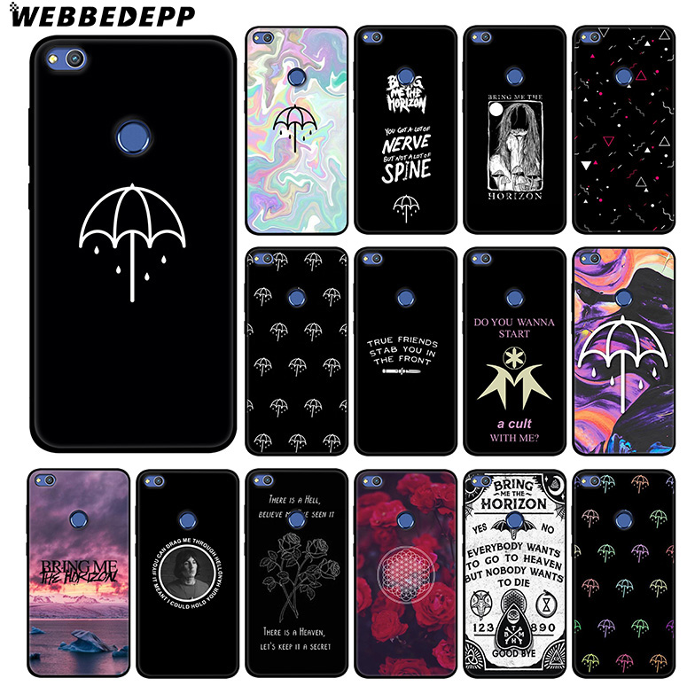 US $1 78 46% OFF|WEBBEDEPP Bring Me The Horizon Soft Silicone Case for  Huawei Honor Mate 20 10 8X 8C 8 6A 7A 7X 7C Lite Pro TPU-in Fitted Cases  from