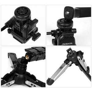 """Image 5 - Yunteng VCT 288カメラ一脚+流体なべ+一脚ホルダー用キヤノンニコンとすべてのデジタル一眼で1/4 """"マウント送料無料"""