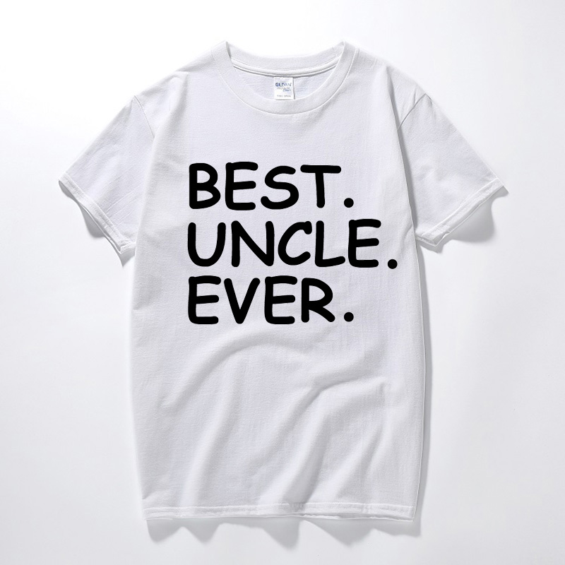Mens Present T Shirt Best Uncle Ever Holiday Birthday Gifts Ideas For Dad Father In Shirts From Clothing Accessories On