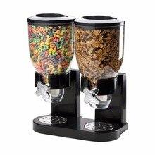 PREUP Bohnen Hafer Muttern Trockenfutter Dispenser Vorratsbehälter Pasta Cereal Essen Süßigkeiten Reis Storge Flaschen Küche Maschine