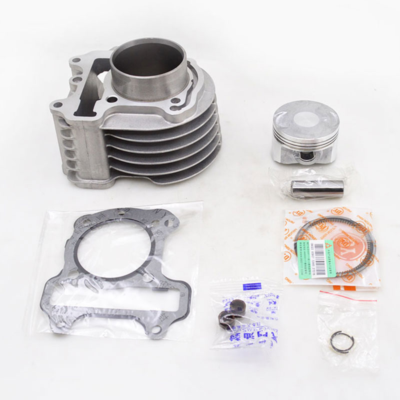 Motorcycle Cylinder Kit Piston Ring Gasket For Honda SCV 100 LEAD SCV100 2002 2010 SPACY 100