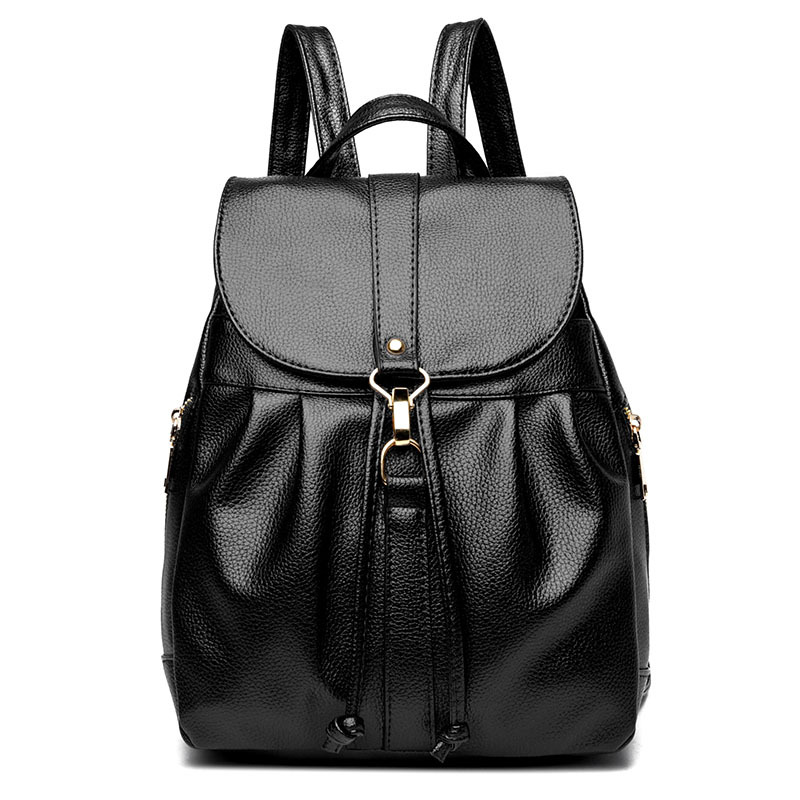 Women Backpacks 2018 New Fashion Travel Bags High Quality Female Shoulder Bag PU Leather ...