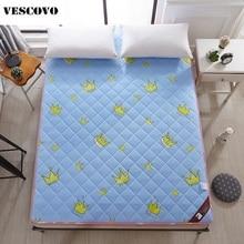 6.5cm thick sponge mattress cartoon printing mattress sleeping tatami mat flooring