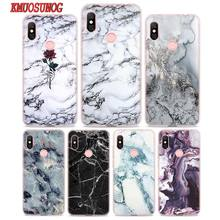 Transparent Soft Silicone Phone Case Grunge marble pink weird for Xiaomi Redmi S2 Note 7 4 4X 5 5A 6 6A Pro Plus наушники earbud plus pink marble