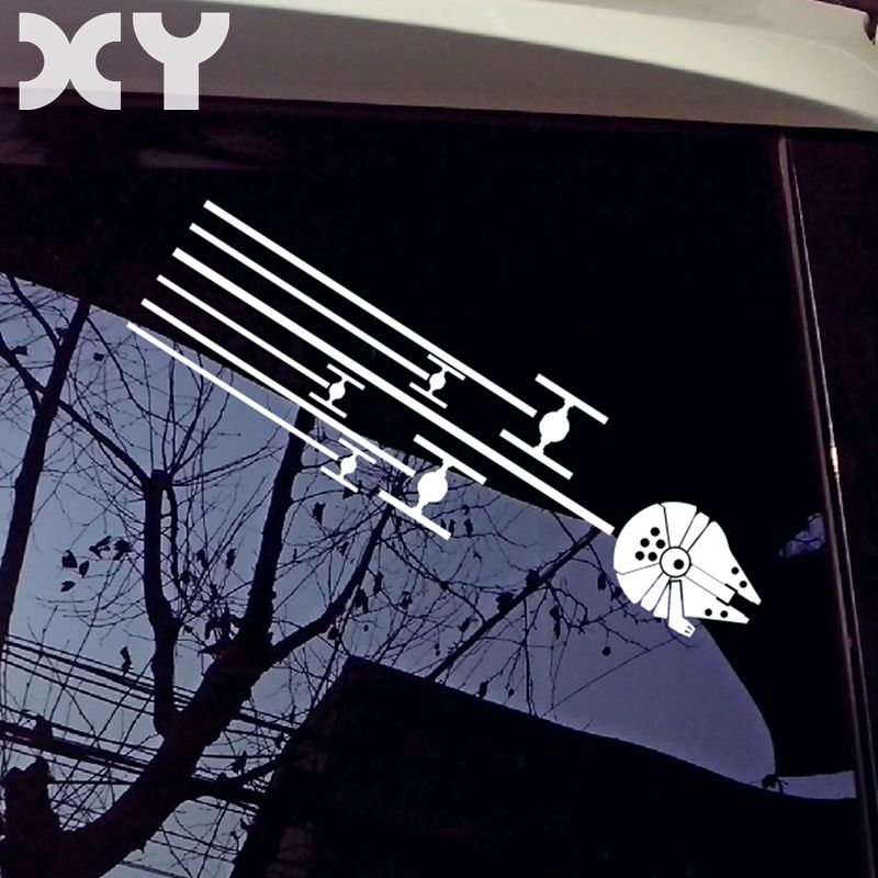 XY персонализированные царапины боец самолет модифицированные наклейки для автомобилей водонепроницаемые наклейки на автомобиль Звездные...