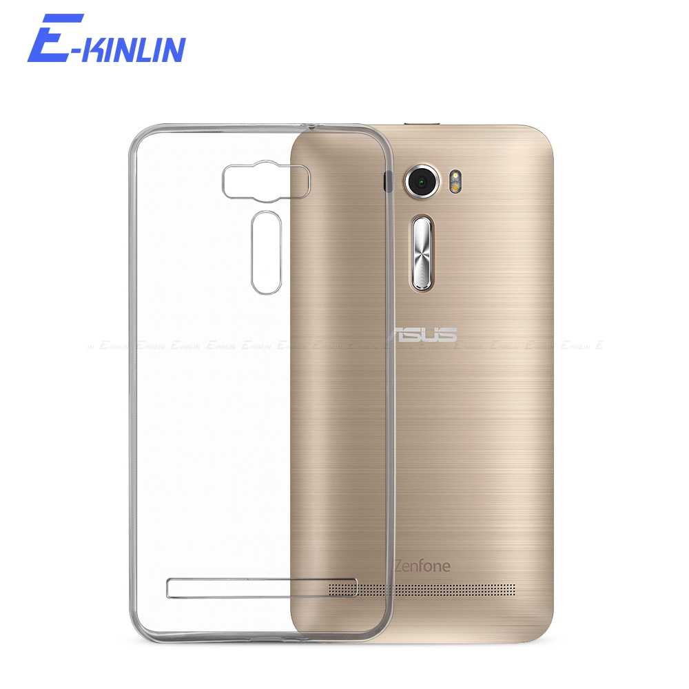 Clear Soft Back Cover For Asus ZenFone 2 Laser Deluxe ZE601KL ZE500KL ZE550KL ZE551KL ZE500CL ZE550ML ZE551ML Silicone TPU Case