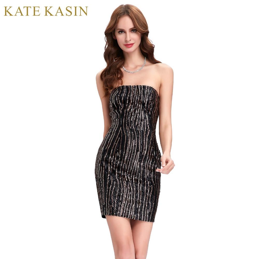 Summer Strapless Cocktail Dress
