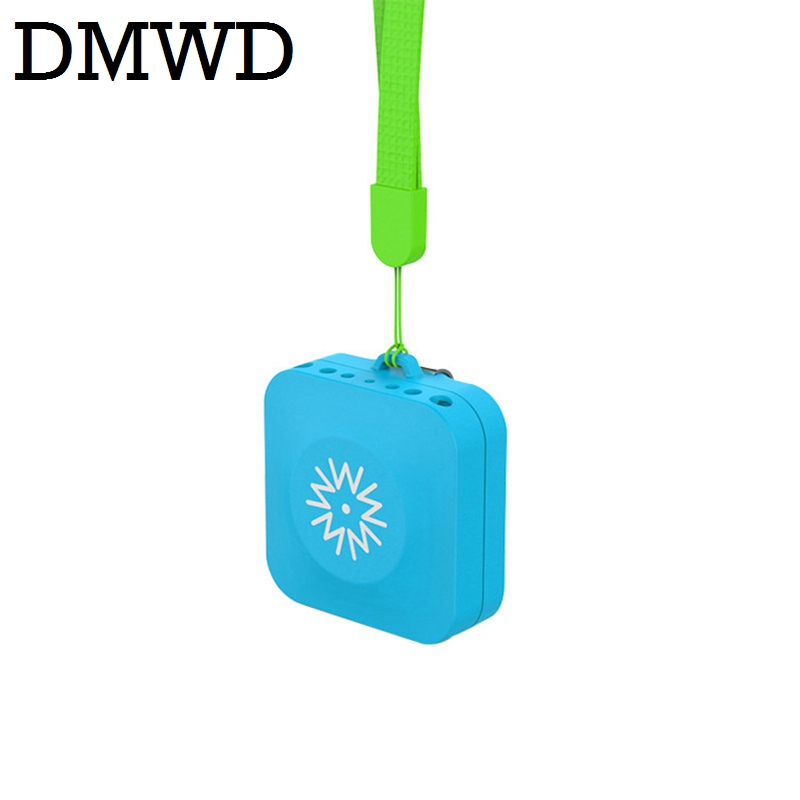DMWD Negative ion Wearing Ozone fresh Air Purifier portable Ionizer Generator smoke cleaner filter MINI USB outdoor freshener high quality portable air purifier usb household car use negative ion smoke removal dusting function air cleaner office use