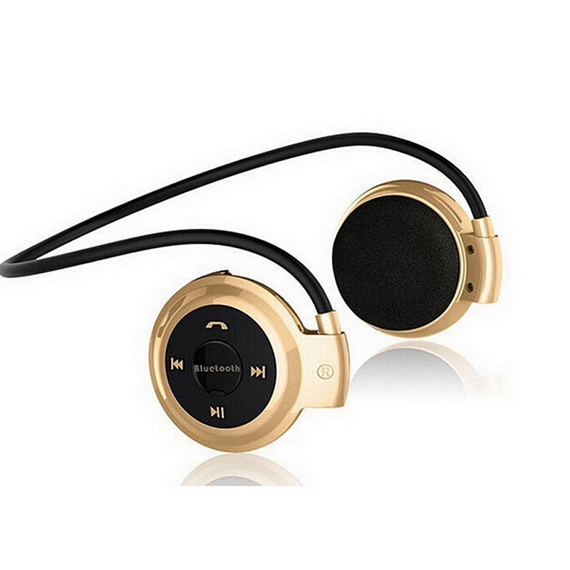 Wireless Headphones Bluetooth Mini 503 Sport  Music Stereo Earphones+Micro SD Card Slot+FM Radio Mini503