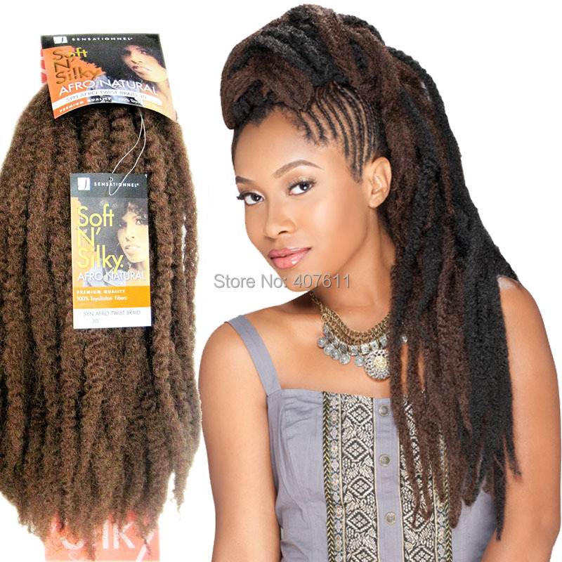 Marley Braid Braiding Hair Extensions Kanekalon Afro Twist 18 Long 2pcs Lot Free Shipping On Aliexpress