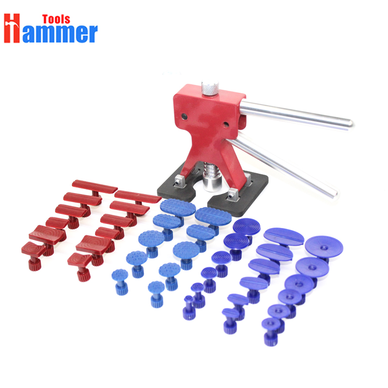 Popular PDR Tools Paintless Dent Repair Tools Dent Removal Dent Puller Tabs Dent Lifter Hand Tool Set PDR Tool kit blackspade термобелье леггинсы