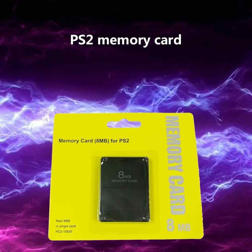 Wholesale 8M / 16M / 32M / 64M /128M Memory Card Save Game Data Stick Module For Sony PlayStation 2 PS2 High Quality Memory Card