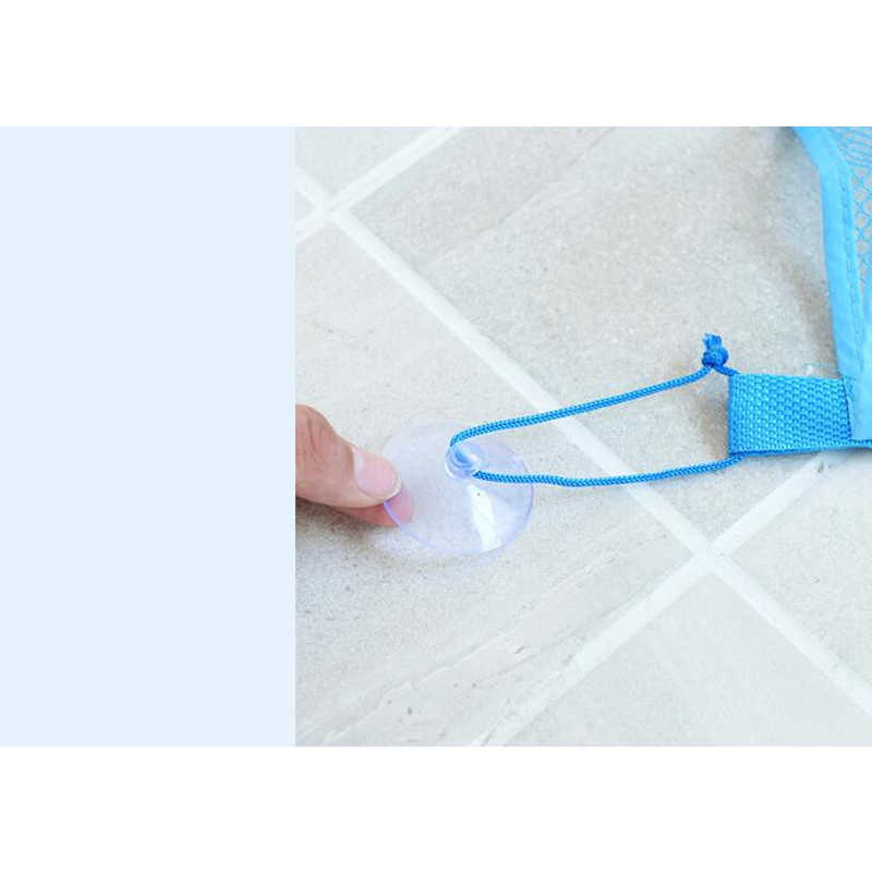 Brinquedo do Banho da criança Saco De Armazenamento Organizador Net Cestas De Sucção Do Bebê Dos Miúdos Saco De Malha Banheiro
