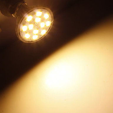 Купить с кэшбэком BEEROFO LED Spotlight GU4(MR11) 6W 12 SMD 5730 570 LM Warm White / Cool White MR11 LED Spotlight DC 12 V