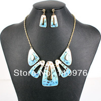 MS17824 Fashion Jewelry Sets Bridal Jewelry Gold Plated High Quality Party Jewelry Unique Design 2014 New