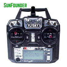 FS i6X AFHDS 2A 2 4GHz Radio System Transmitter with FS A8S Receiver for RC Quadcopter