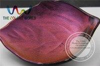 TCWB177 Magia marrón rojo, púrpura Efecto de cambio de Color Pigmento En Polvo o Polvo de uñas de Arte de uñas esmalte de uñas de gel o de otros la decoración de DIY