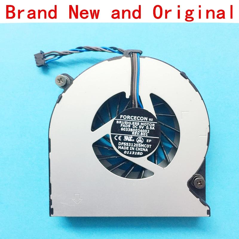 New HP Elitebook 8460B 8460W 8560P 8570P CPU cooling fan