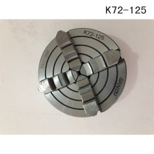 RU Delivery 54 Jaw scroll chuck K72-125 Lathe Chuck 125mm Four-Jaws 5'' Manual Chuck for CNC Clathe Fixture New