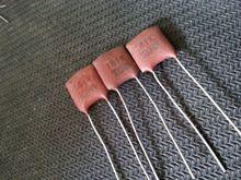 50 шт. Японский 180pF/500 В SOSHIN 181 медь серебро слюдяной конденсатор 180 P бесплатная доставка