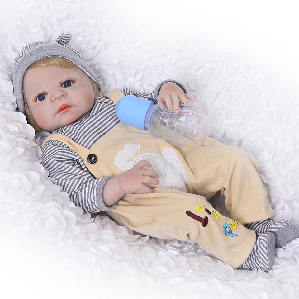 Magnetic Mouth Reborn Dolls Looks Truly Ethnic Boy Dolls Realistic 23'' Full Silicone Reborn Baby Toy For Sale by KEIUMI брюки 7 8 quelle b c best connections by heine 154161