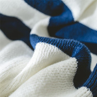 Knitted strap 100% Acrylic Modern Yarn Dyed Portable blankets