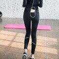 Gimnasio legging mujeres brillante legging calcular impuestos especiales push up ropa de entrenamiento hembra legging para las mujeres X023